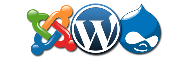 wordpress-drupal-joomla